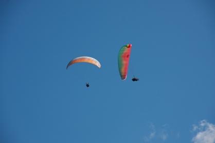 Voler à 2 en parapente tandem avec Moniteurs agréer FFVL